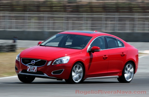2011 Volvo S60, running shot in the track, Amozoc, Puebla, Mexico