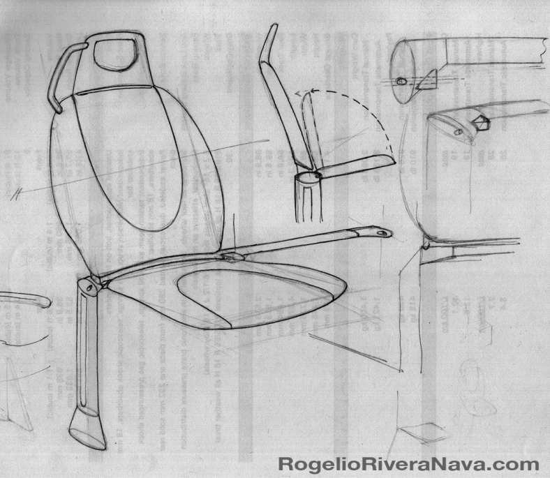 Drawing by Rogelio Rivera Nava (circa April 2001) / rogelioriveranava.com