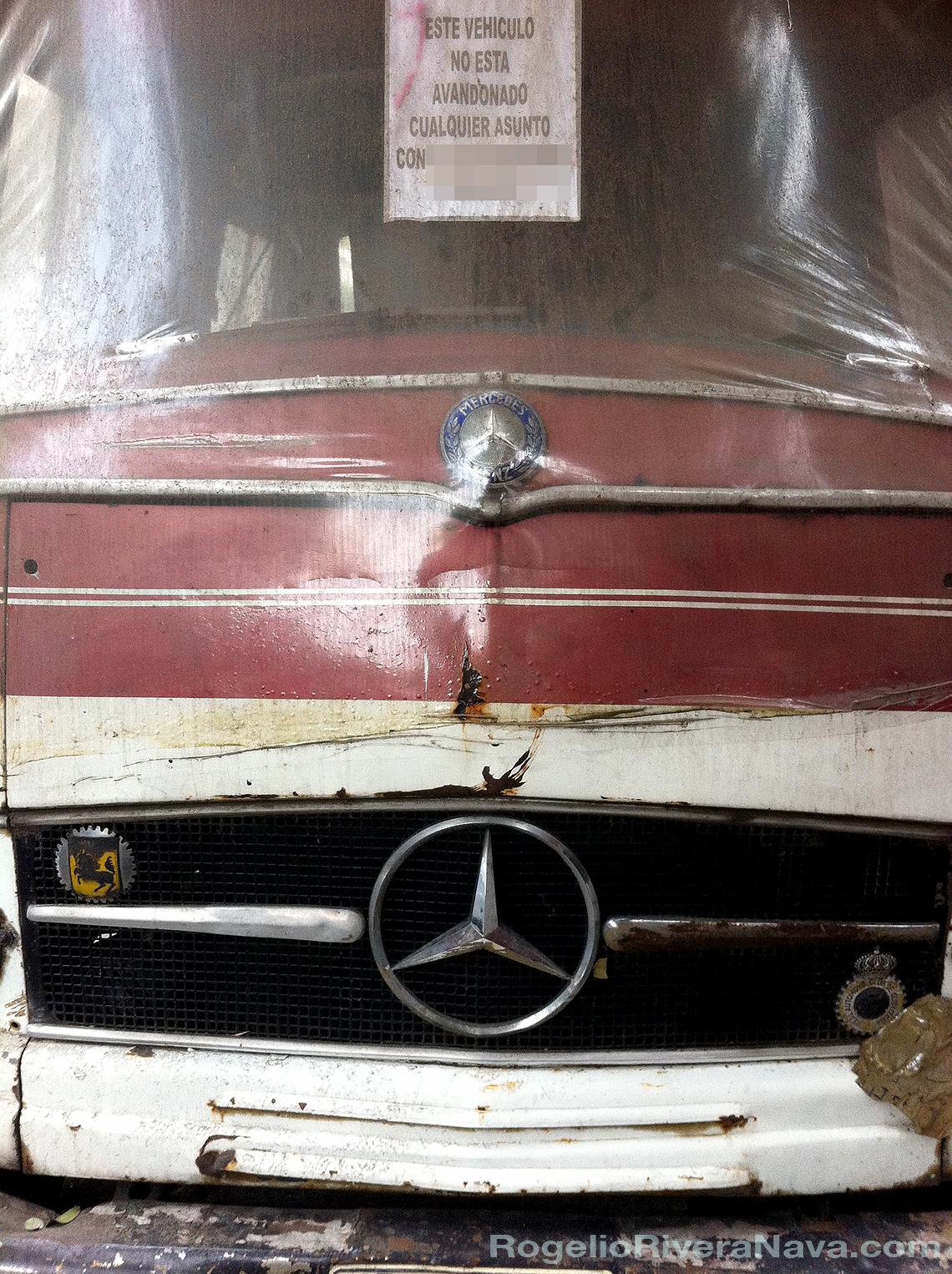 Los olvidados de pebble street este auto no est for Mercedes benz route 17